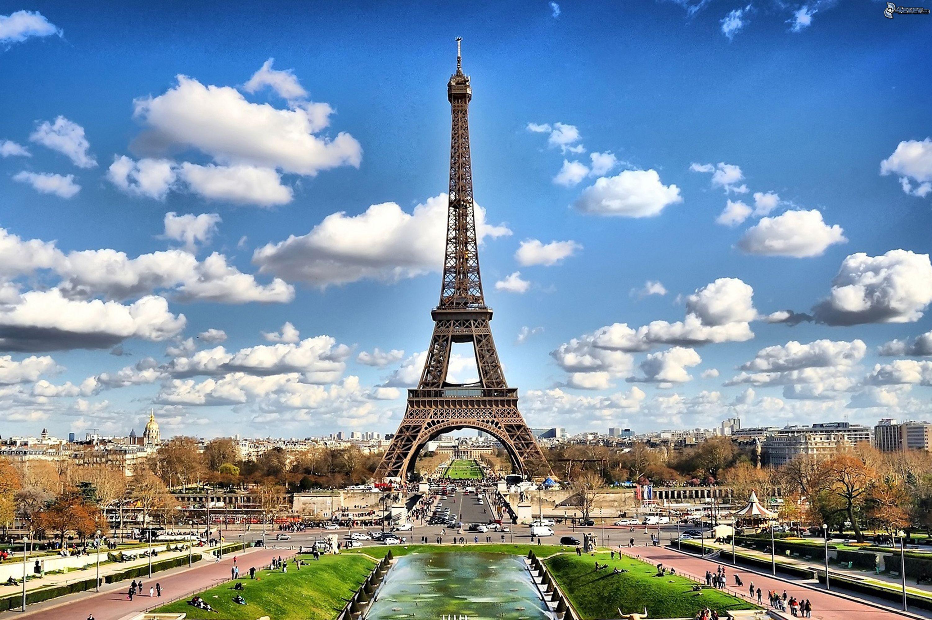 природа страны архитектура Марсово поле Париж Франция  № 824000 бесплатно