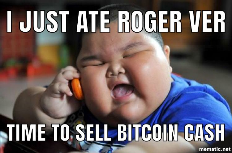 Funny Meme Upload : Roger ver bcash creator exposed : btc