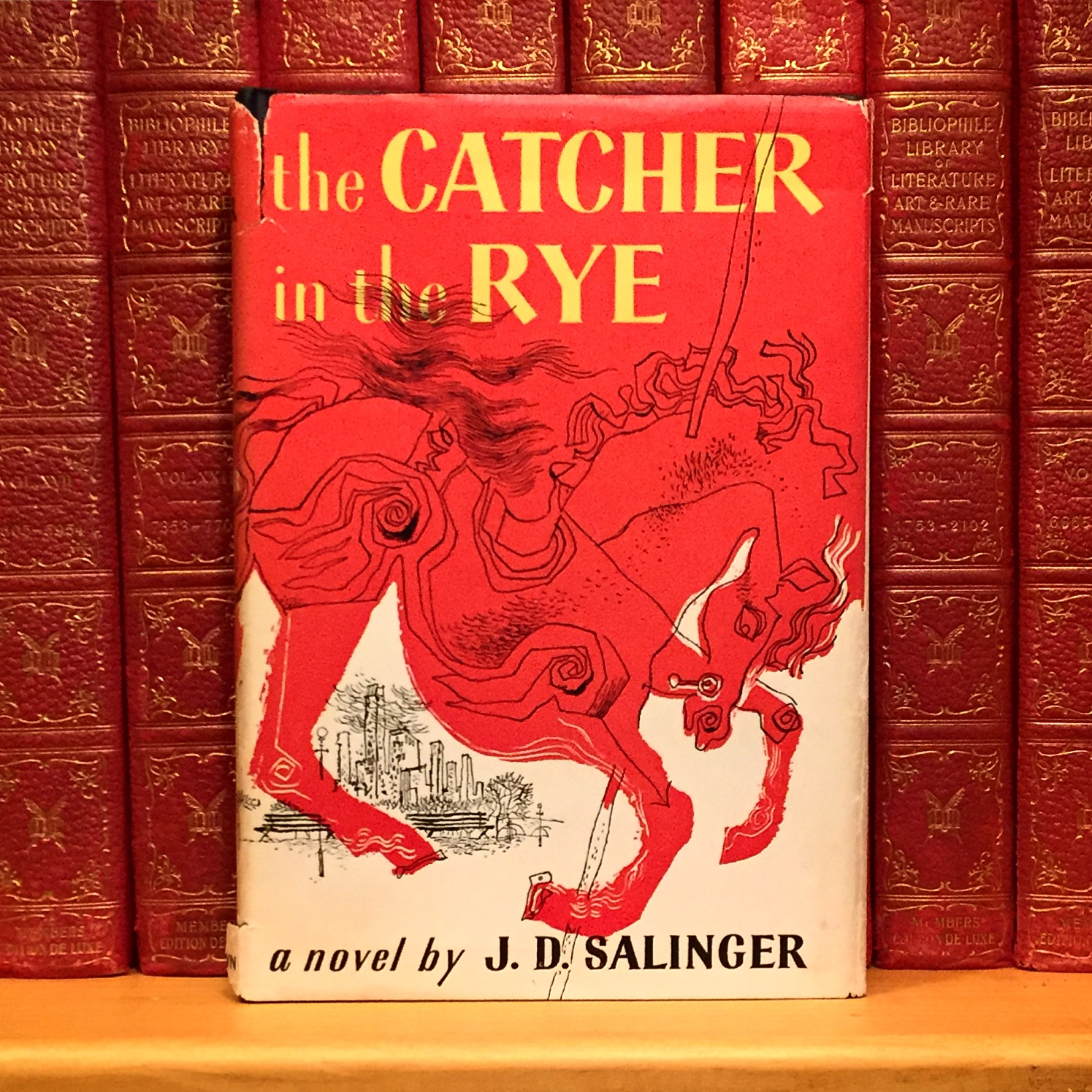 a literary analysis of the catcher in the rye by j d salinger The analysis & criticism chapter of this the catcher in the rye study ''the catcher in the rye'' by jd salinger is a the catcher in the rye: literary.