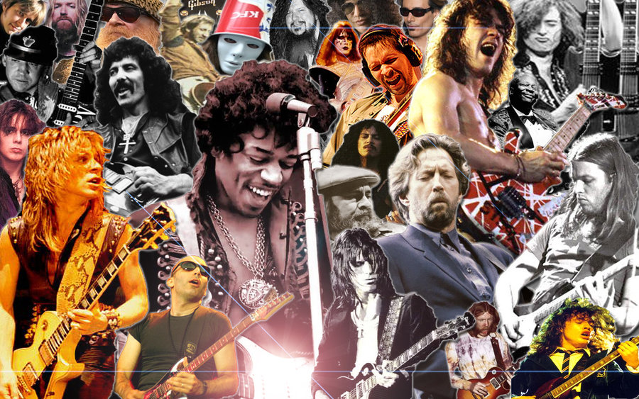 an overview of great guitarists of all times