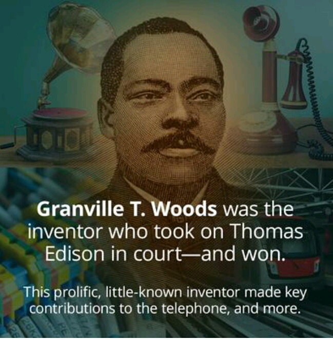 a biography of granville t woods an inventor Granville t woods born on april 23, 1856 in columbus, ohio, granville woods was the individual most responsible for modernizing the railroad during his lifetime, granville t woods earned over thirty-five patents ranging from a steam boiler furnace in 1884, an incubator in 1900, to the automatic airbrake in 1902.