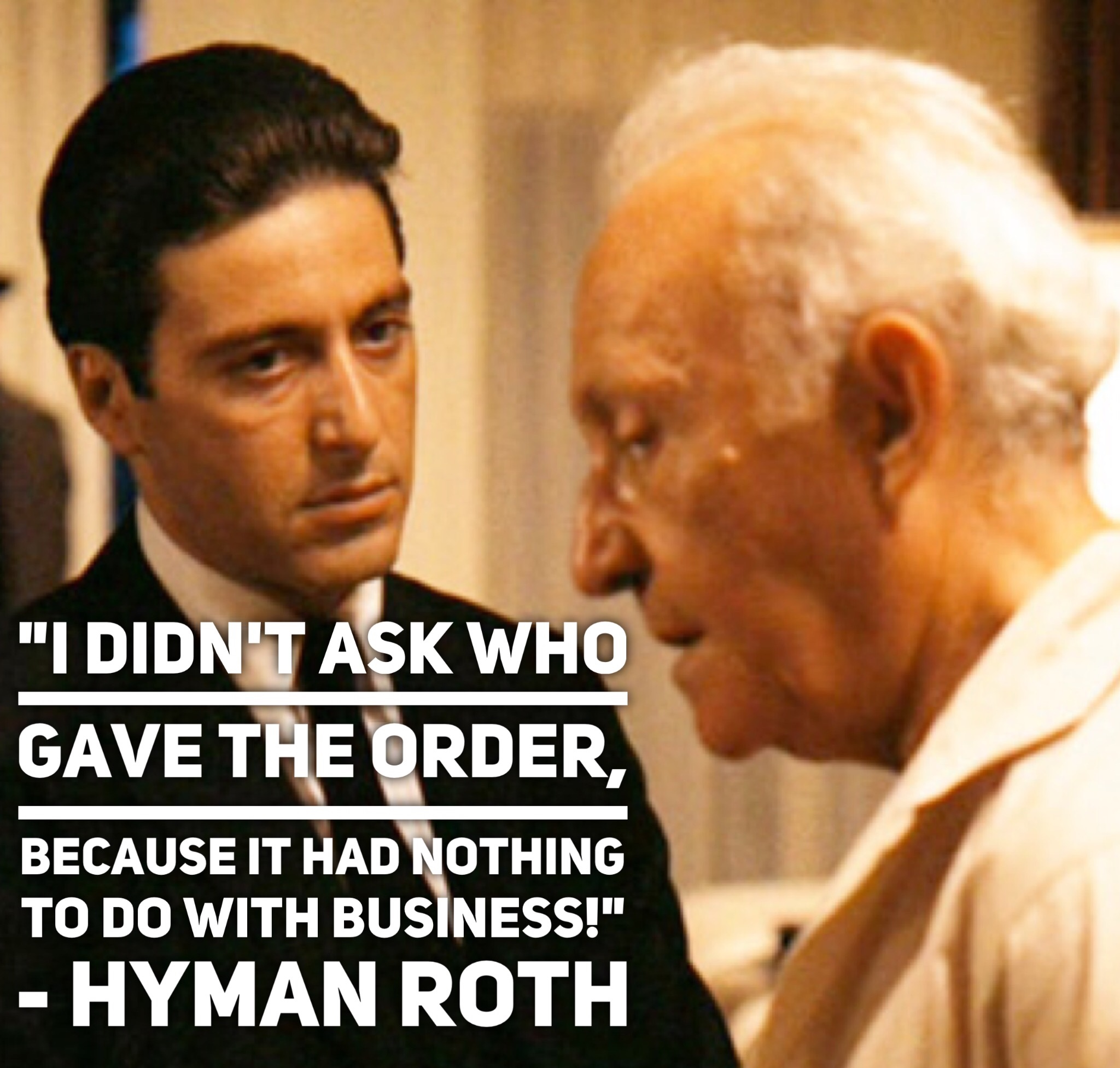 hyman roth quotes - HD 2048×1952