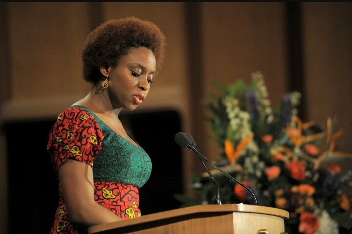 feminism speech by chimamanda ngozi adichie Just this week, in schwab auditorium on campus, i went with a friend to see nigerian author and speaker, chimamanda ngozi adichie i was very excited to watch her speak after watching her powerful, eye-opening ted-talks which discuss feminism and race adichie is a particularly good rhetor, invoking.