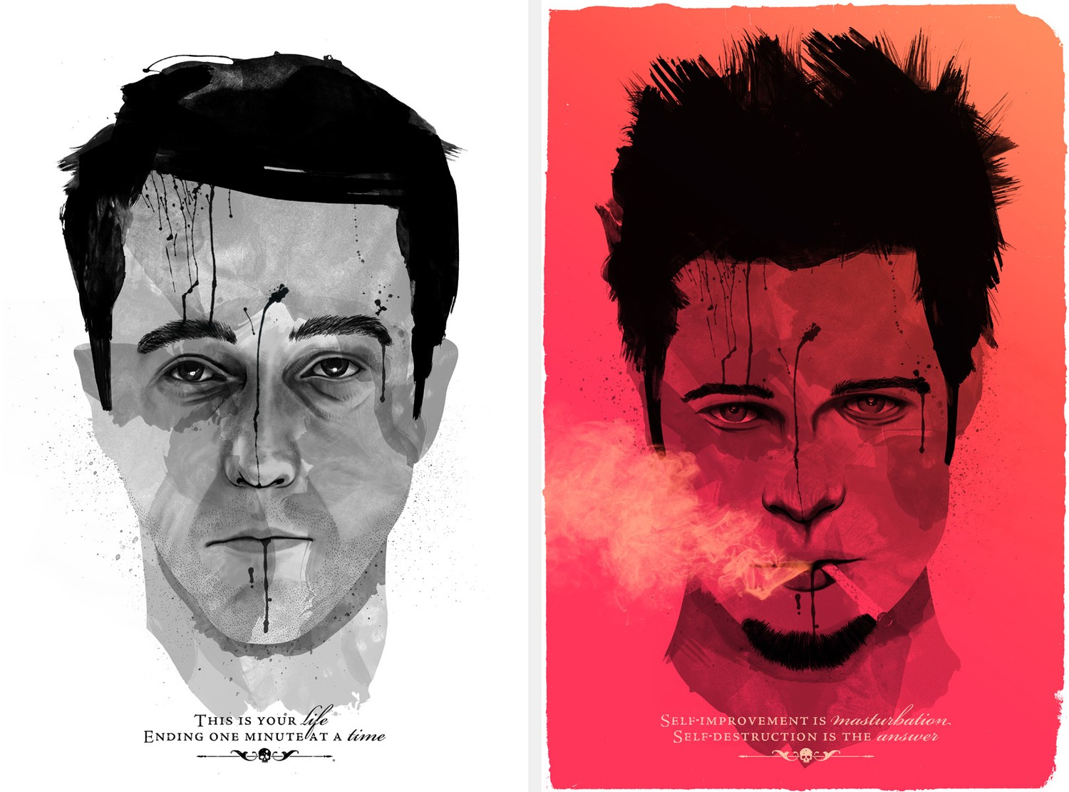 psychological disorder fight club