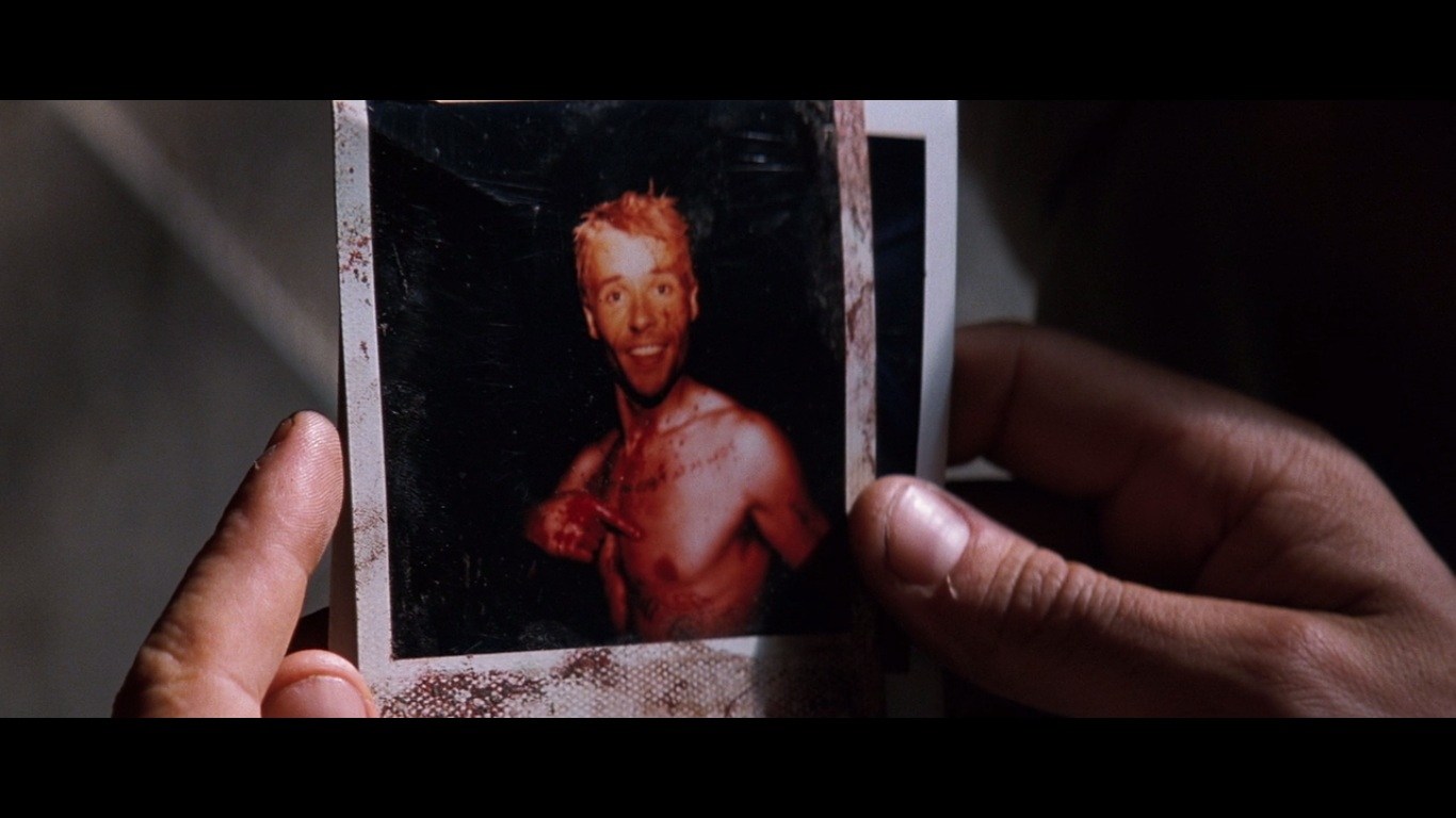 the struggles of leonard in the memento a film by christopher nolan