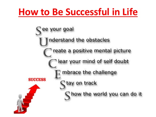success in life based on hardwork