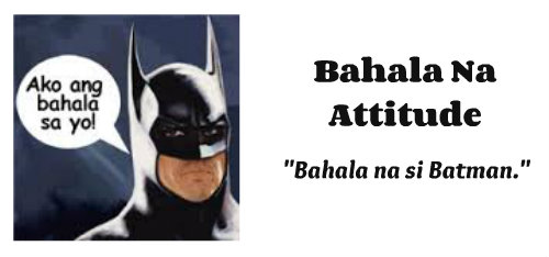 bahala na essay Free essay: the filipino youth essay on filipino youth essay on filipino youth 702 words dec 1st, 2012 3 pages show more 2bahala na attitude.