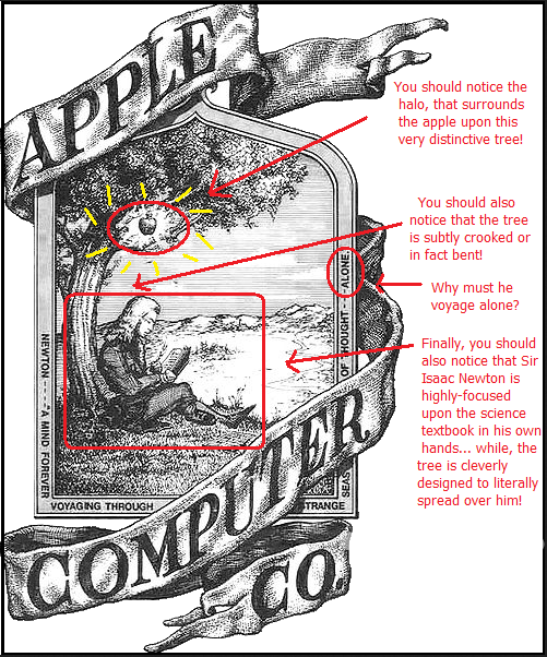 first logo of apple